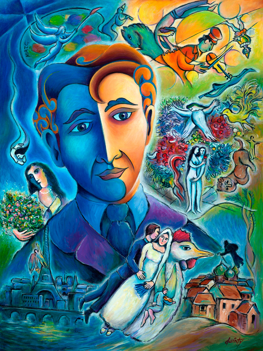 Jackson dainty masters of change marc chagall for The art of painting